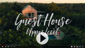 Tour the Upper Level Guest House of Villa Camilla on Grace Bay Beach